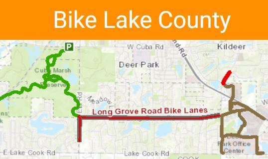 Lake co bike route